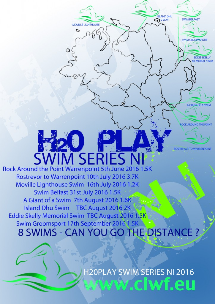 8 SWIMS CAN YOU GO THE DISTANCE JUNIOR AND SENIOR RACES with exciting new locations throughout Northern Ireland